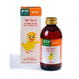 Витамин С с экстрактом шиповника сироп для детей