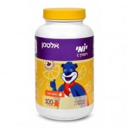 Жевательные мишки витамин С со вкусом апельсина Altman Yomi