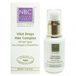 Комплекс для укрепления корней волос Капли жизни VITAL DROPS HAIR COMPLEX