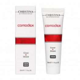 Comodex Cover & Shield Cream  Защитный крем с тоном SPF20