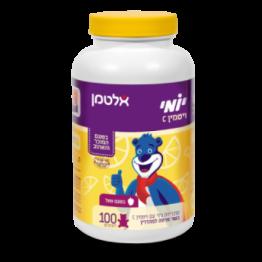 Жевательные мишки витамин С со вкусом малины Altman Yomi