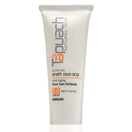 Защитный крем для лица против старения UVB SPF 50 Anti Aging Face Sun Defence