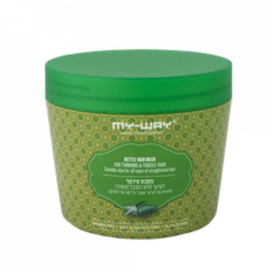 Маска для тонких хрупких волос c крапивой Nettle Hair Mask For thinning and fragile hair