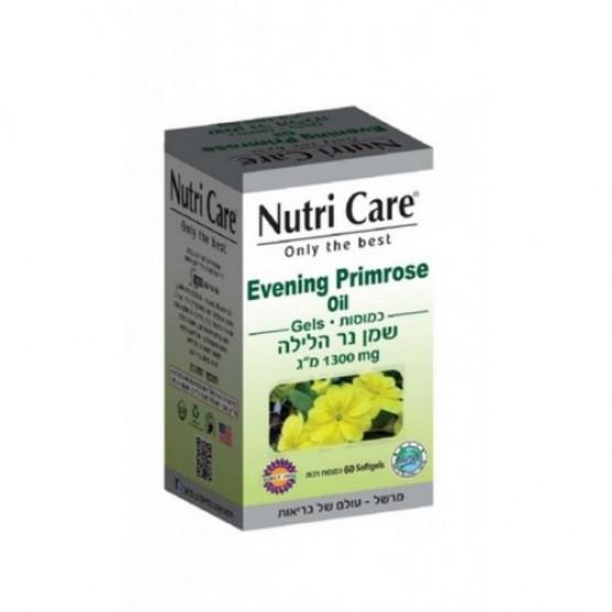 Масло примулы вечерней 1300 мг Nutri Care Evening Primrose Oil