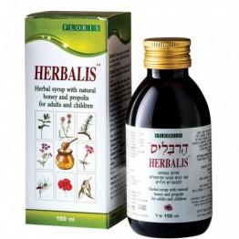 Сироп от кашля для детей и взрослых с медом Herbalis