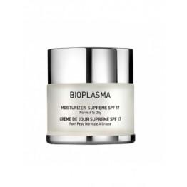 Bioplasma Moist Supreme SPF-18 Увлажняющий крем для жирной кожи с SPF18