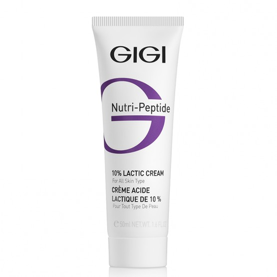 GIGI Nutri-Peptide 10% Lactic Cream Пептидный крем с 10% молочной кислотой