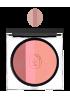 Сияющая компактная пудра-трио розовое