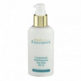 EXUVIANCE Fundamental Multi-Protective Day Fluid SPF15 Дневной базовый защитный флюид для жирной и комбинированной кожи