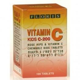 Витамин С жевательный детский 200 мг